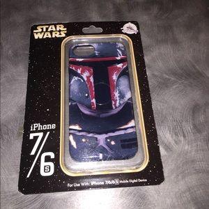 Disney Star Wars Boba Fett iPhone case